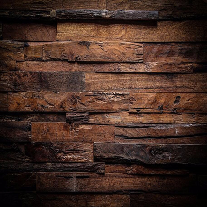 Nostalgic Wood Panel Wallpaper Mural