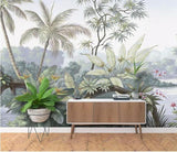 custom-wallpaper-wall-murals-wall-stickers-retro-nostalgic-rainforest-tree-countryside-mural-background-wall