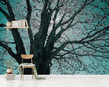 custom-mural-wallpaper-papier-peint-papel-de-parede-wall-decor-ideas-for-bedroom-living-room-dining-room-wallcovering-3d-hand-painted-oil-painting-big-tree-silhouette-background
