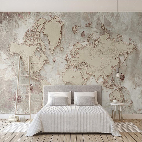 custom-size-wall-mural-decorative-wallpaper-retro-style-makes-old-american-nordic-world-map-tv-background-wall
