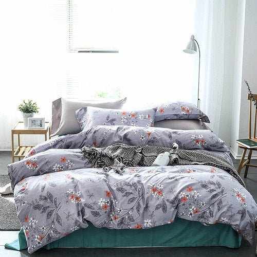 egyptian-cotton-queen-king-size-bedding-set-leaf-floral-print-modern-pastoral-bed-set-cotton-bedsheets-duvet-quilt-cover-set