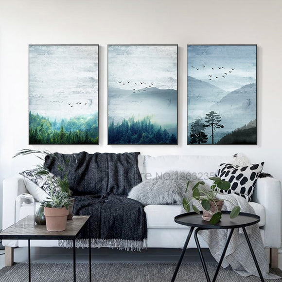 forest-nordic-poster-picture-wall-pictures-for-living-room-wall-art-canvas-painting-posters-and-prints-quadro-cuadros-unframed