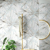 green-leaves-tropical-wall-paper-natural-bamboo-pattern-wallpaper-papier-peint