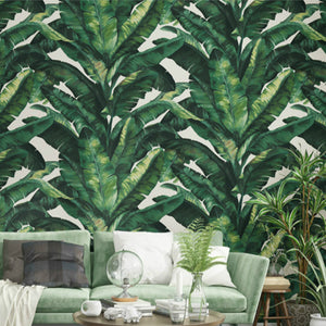 heavy-weight-banana-leaf-tropical-wall-paper-green-plant-living-room-background-black-vinyl-wallpapers-roll-grey-white-papier-peint