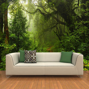 custom-3D-wall-mural-wallcovering-nature-landscape-wallpaper-green-forest