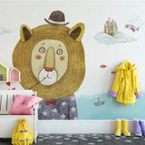 custom-mural-wallpaper-3d-living-room-bedroom-home-decor-wall-painting-papel-de-parede-papier-peint-nordic-cartoon-lion-kids-wallpaper