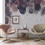 custom-3d-wallpaper-mural-nordic-hand-painted-retro-style-tropical-plant-indoor-background-wall-papier-peint