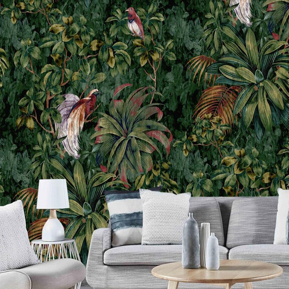 tropical-jungle-forest-custom-wallpaper-3d-mural-study-living-room-sofa-tv-background-waterproof-canvas-wallpaper-wall-painting-papier-peint-wallcovering-nursery-vintage