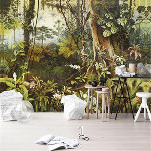 retro-jungle-tropical-rain-forest-custom-wallpaper-3d-mural-study-living-room-sofa-tv-background-waterproof-canvas-wallpaper-wall-painting-papier-peint-wallcovering-nursery