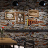 faux-brick-stone-wallpaper-living-room-wallcovering-restaurant