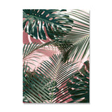 nordic-poster-coconut-tree-wall-pictures-for-living-room-posters-and-prints-green-leaf-blue-wall-art-canvas-painting-unframed