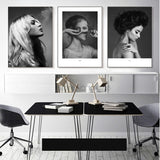 nordic-poster-woman-grey-and-black-abstract-wall-art-canvas-painting-posters-picture-wall-pictures-for-living-room-unframed
