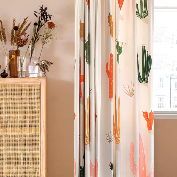 custom-window-treatment-curtain-living-room-thicken-chenille-curtains-for-bedroom-cactus-printed-curtain-creative-blinds-home-decor-window-covering