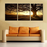 simple-life-3-panels-modern-printed-tree-painting-picture-sunset-canvas-painting-wall-art-home-decor-for-living-room-unframed