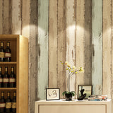 Wallpaper-wood-effect-wallcovering-home-improvement-living-room