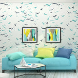 wallpaper-for-walls-in-roll-seagull-bird-blue-wallpaper-feature-wall-paper