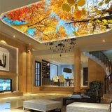 custom-3d-mural-wallpaper-papier-peint-ceiling-mural-interior-bedroom-dining-room-living-room-photo-wall-decoration-fall-colorful-forest