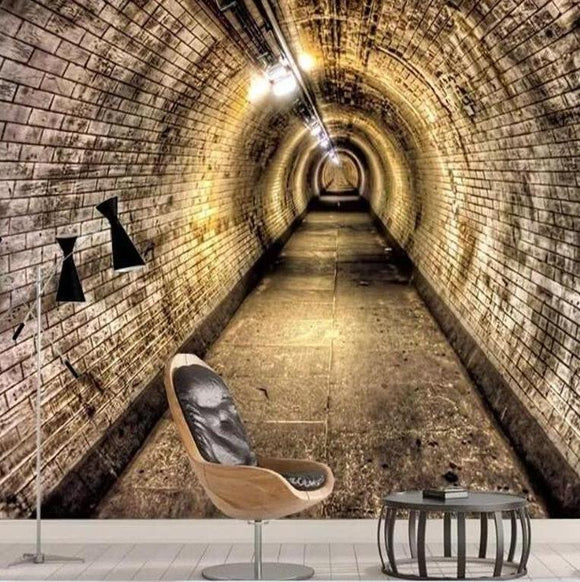 3d-wall-wallpaper-custom-wall-sticker-industrial-wind-tunnel-brick-wall-tunnel-background-wallpaper-3d-on-the-wall