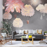 custom-mural-wallpaper-papier-peint-papel-de-parede-wall-decor-ideas-for-bedroom-dining-room-wallcovering-Wall-Painting-feathers-Kids-Bedroom-nursery-decor
