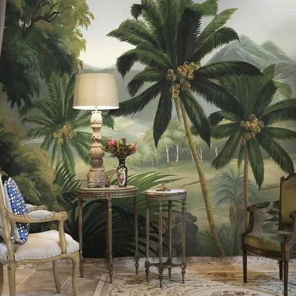 custom-palm-tree-forest-river-tropical-rainforest-medieval-photo-mural-wallpapers-for-living-room-bedroom-wallpaper-3d-papier-peint