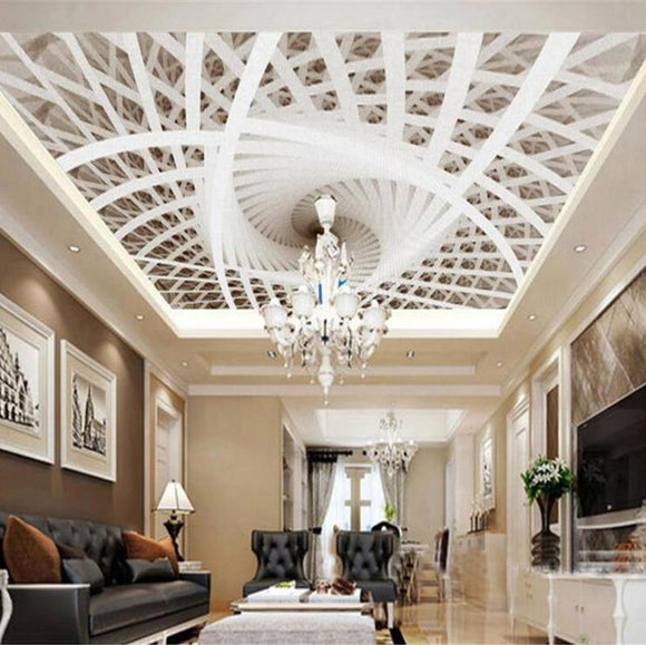wall-paper-interior-decoration-painting-personality-simple-3d-stereoscopic-art-geometric-ceiling-design-3d-wallpaper