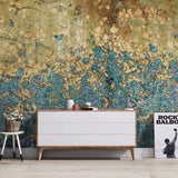 Custom Mural Wallpaper Abstract Black Golden Creative Art (㎡)
