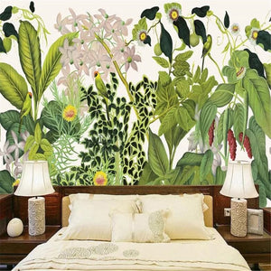 custom-wallpaper-home-decorative-mural-european-style-retro-hand-painted-tropical-rainforest-tv-background-wallpaper-papier-peint