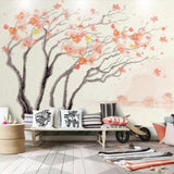 custom-wallpaper-mural-sakura-abstract-tree-photo-mural-wallpaper-tv-background-watercolor-flowers-nordic-decorative-wall-painting-papier-peint