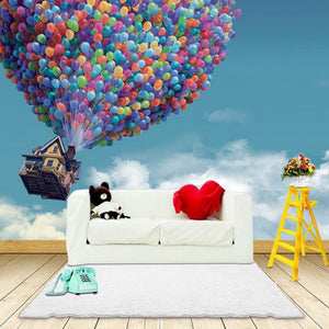 custom-photo-wallpaper-3d-wall-murals-wallpaper-hot-air-balloon-blue-sky-white-clouds-background-large-wall-painting-living-room