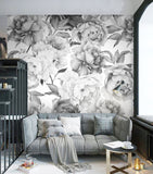 grey-black-and-white-floral-custom-3d-wallpaper-mural-on-the-wall-for-office-living-room-meeting-room