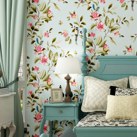 pastoral-butterfly-flowers-birds-non-woven-wallpaper-floral-wall-papers-home-decor-living-room-bedroom-decor-wall-paper-rolls