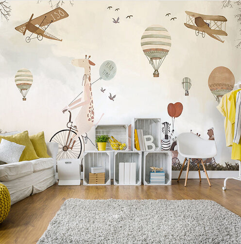 custom size wall mural wallpaper kid\u0027s room free shipping bvm homecustom mural wallpaper decoration for kids room nursery