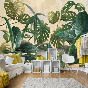 custom-mural-wallpaper-tropical-rain-forest-palm-banana-leaf-large-murals-wall-painting-wallpapers-for-living-room-decoration-3d