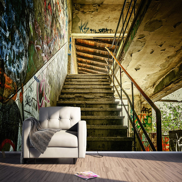 custom-any-size-3d-wall-murals-wallpaper-personality-stereoscopic-streets-graffiti-stairs-large-wall-painting-living-room-decor