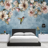 custom-wall-mural-de-parede-european-style-hand-painted-flowers-birds-oil-painting-living-room-bedroom-decoration-wallpaper-3d
