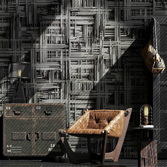 black-silver-white-metallic-abstract-3d-stereoscopic-wallpaper-modern-geometric-vinyl-wall-paper-living-room-bedroom-background