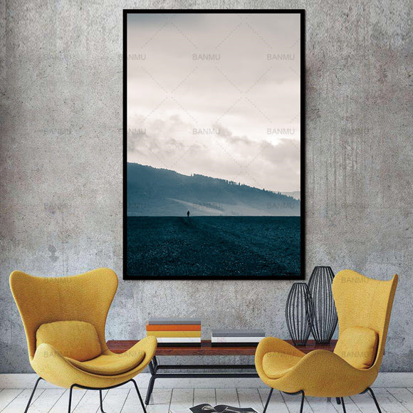 art-picture-canvas-painting-wall-poster-print-mountain-and-tree-painting-decorate-for-living-room-on-wall-picture-home-no-frame