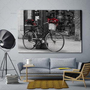 wall-art-canvas-painting-home-deor-morden1-penel-print-retro-bicycle-wall-pictures-print-for-living-room-art-pictures-no-frame
