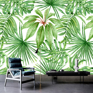 custom-photo-mural-hand-painted-green-leaf-plant-wall-painting-wallpaper-for-living-room-bedroom-mural-wall-papers-home-decor