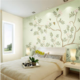 flower-butterfly-highlight-hand-painted-stylish-style-tv-background-wallpaper-living-room-bedroom-wall-paper-mural