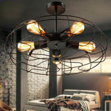fan-lamp-industrial-vintage-style-220v-semi-flush-mount-ceiling-light-metal-hanging-fixture-lighting-e27-bulb-zxd0016