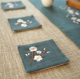 japan-style-tea-cup-placemat-vintage-linen-the-plum-blossom-kungfu-tea-table-cup-mat-accessories