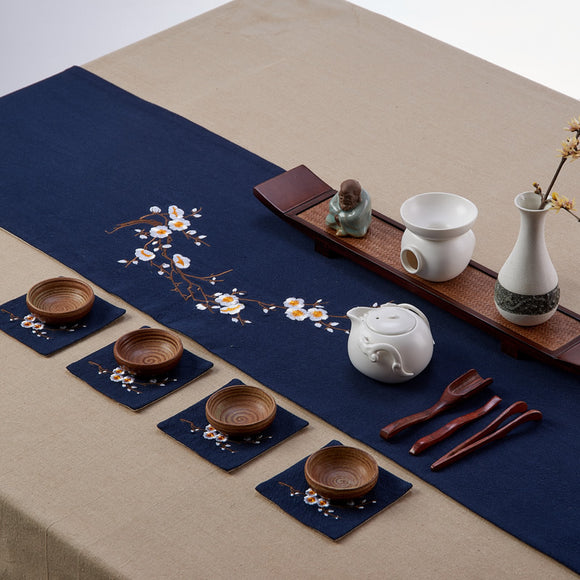 chinese-style-embroidery-tea-cup-placemat-vintage-linen-the-plum-blossom-kungfu-tea-table-cup-mat-accessories