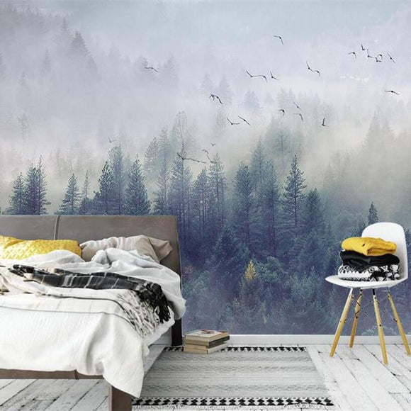 custom-wallpaper-nordic-fresh-forest-landscape-design-tv-background-wall-living-room-bedroom-mural-3d-wallpaper-photos