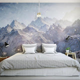 3d-wallpaper-mural-mountain-landscape-wallcovering-free-shipping-home-decor-home-improvement