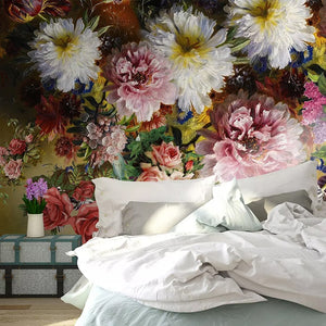 custom-any-size-3d-wall-mural-wallpaper-painting-european-style-retro-hand-painted-floral-flowers-living-room-sofa-bedroom-decor