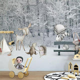 custom-wallpaper-mural-winter-snow-scenery-cartoon-animal-world-tv-background-wall-paper-murals-3d-wallpaper