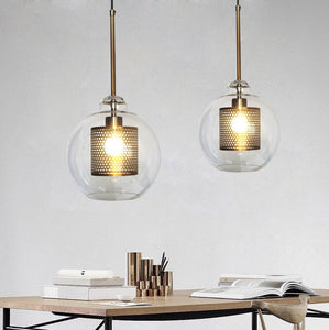 metallic-grid-glass-ball-chandelier-loft-industrial-wind-retro-small-chandelier-hotel-restaurant-art-personality-lamps