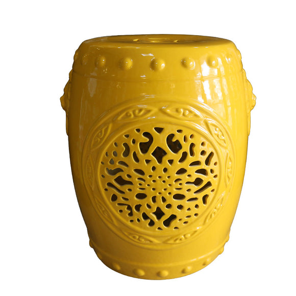 yellow-garden-stool-ceramic-sofa-table-hollowing-high-temperature-color-glaze-lion-head-ceramic-drum-chair-modern-stool-drum-shoes-ceramic-porcelain-stool