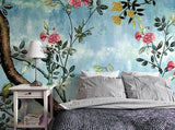 papier-peint-retro-hand-painted-wall-mural-fruit-tree-flower-wallpaper-bedroom-living-room-mural-background-wallpapers